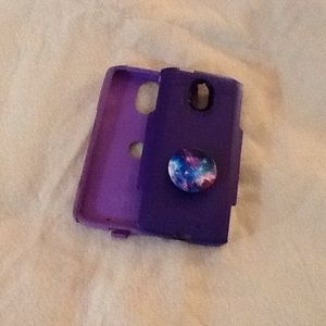 Otter box for Droid Turbo 2 plus phone in purple